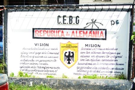 Escuela Republica de Alemania San Miguelito